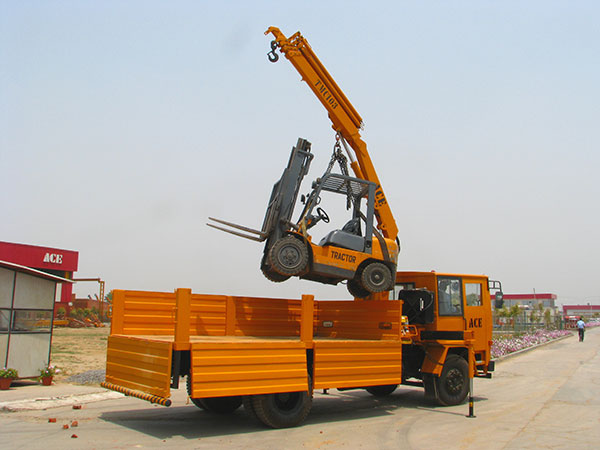 ACE Articulated Knuckle Boom Crane