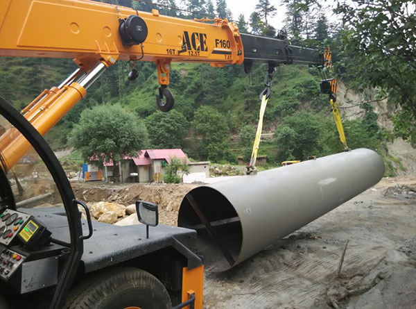 ACE F160 Lifting Steel Pipe