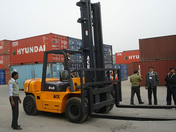 ACE Forklift Truck at Container Yard
