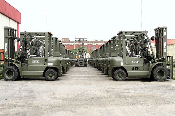 ACE Forklifts for Army