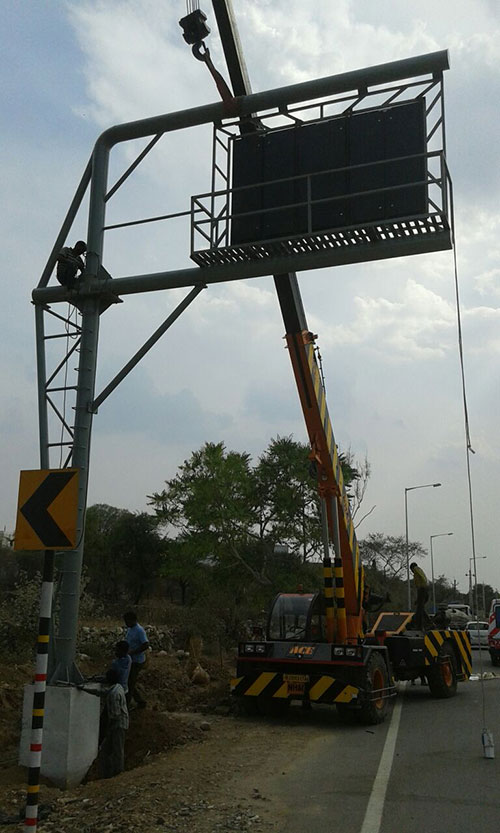 ACE FX 230 Working For Nhai