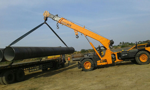 ACE FX230 Lifting Steel Pipe