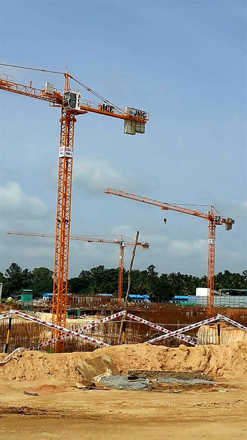ACE Tower Cranes Self Erecting