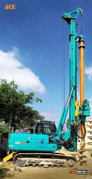 ACE Rugged Rotary Piling Rigs