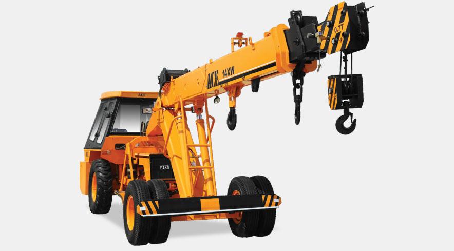 Action Construction Equipment | Mobile Cranes: 14XW