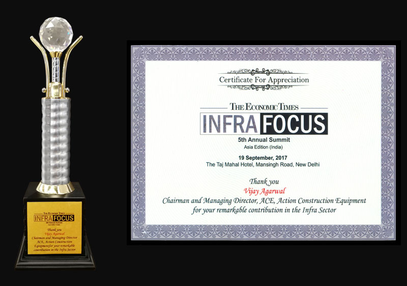 Economic Times Infra Focus Award-2017