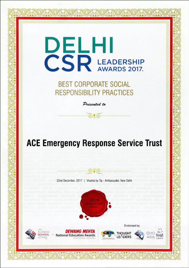 CSR Award-2017