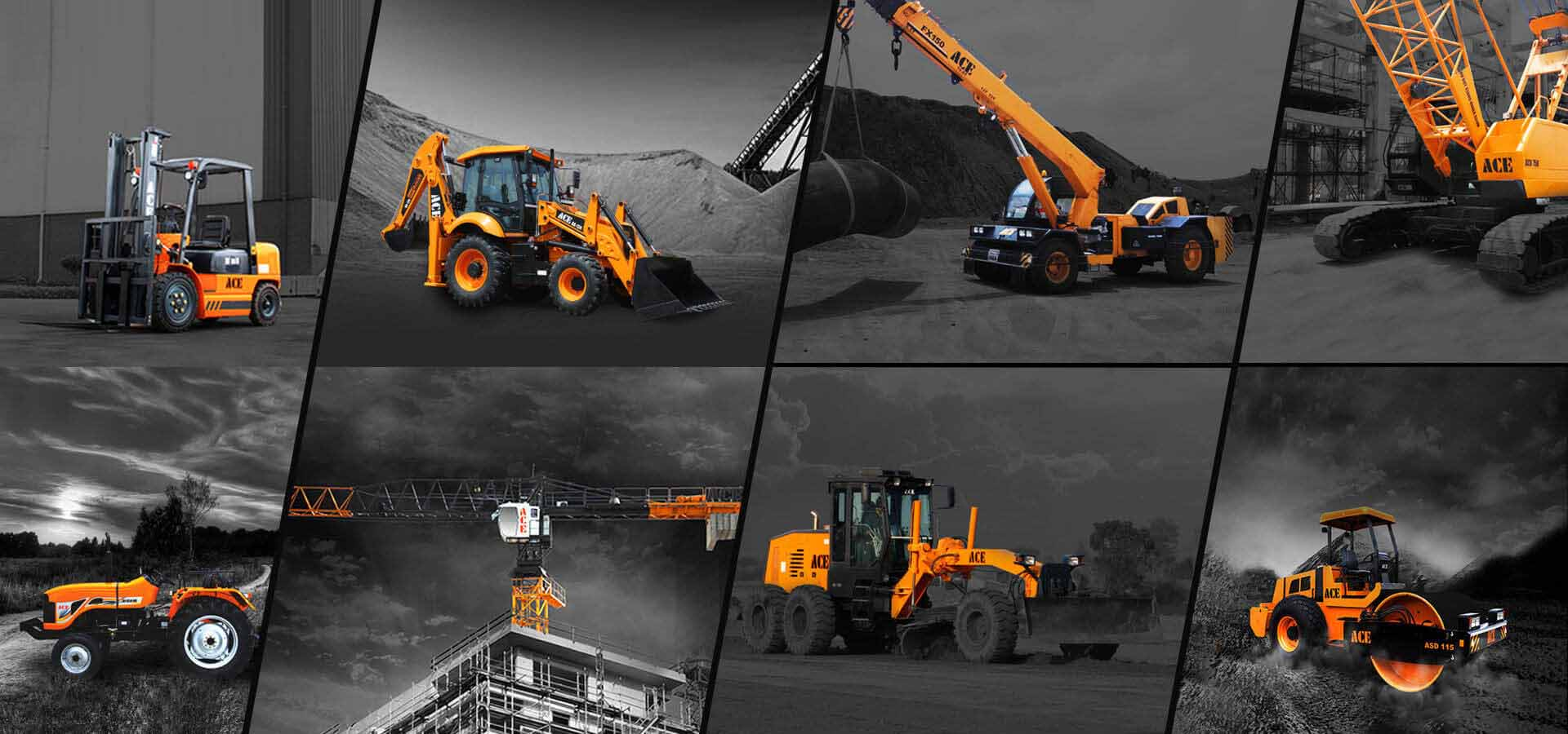 ACE | Construction Equipment Manufacturing Company in India